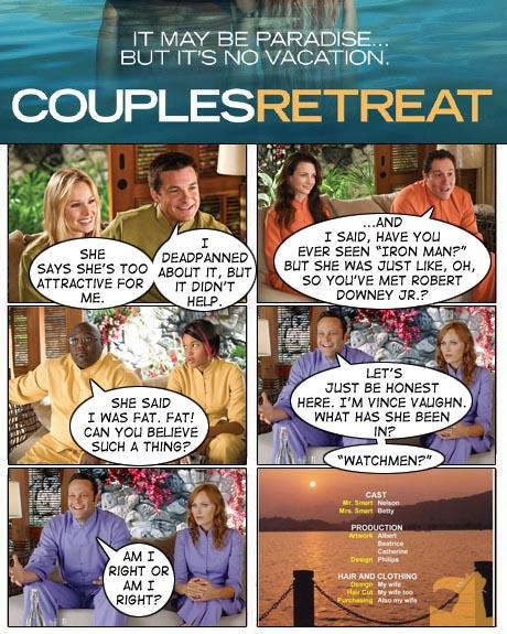 Monday Movie Re Cut Comics Couples Retreat