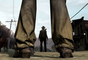 Dueling in Red Dead Redemption